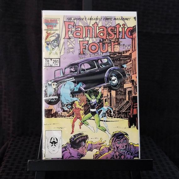 Fantastic Four #291 - Action Comics #1 Homage