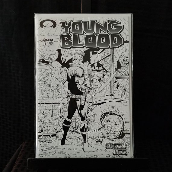 Youngblood #6 B&W Variant