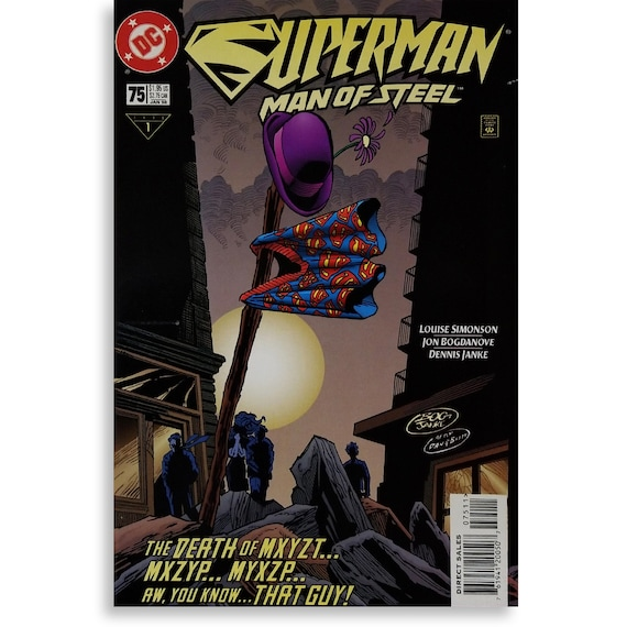 Superman Man of Steel #75