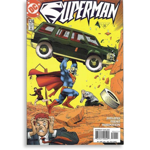 Superman Vol 2 #124
