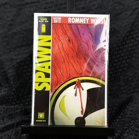 Spawn #225 (Romney Wins!) - Watchmen #1 Homage