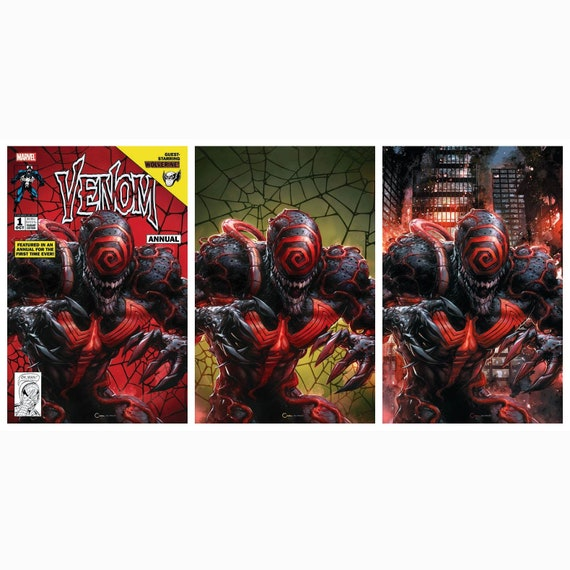 Venom Annual #1 Crain Variant Set (3 books)