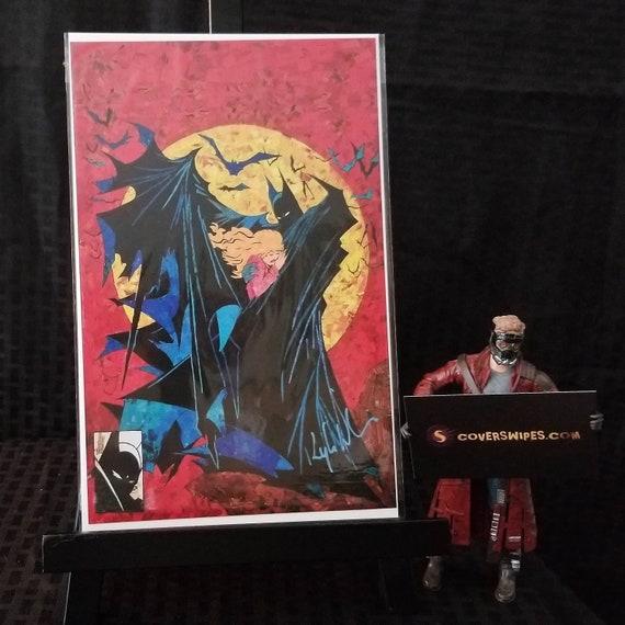 Batman 423 Mosaic Print