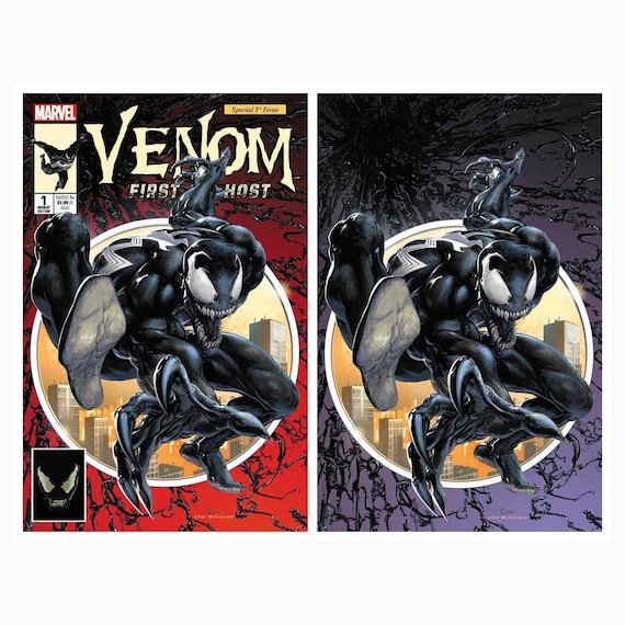 Venom: First Host Clayton Crain NYCC Exclusive
