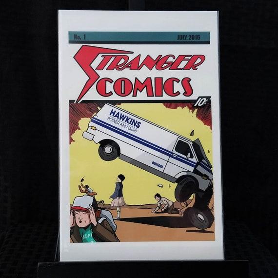 Stranger Comics - Action Comics #1 Homage