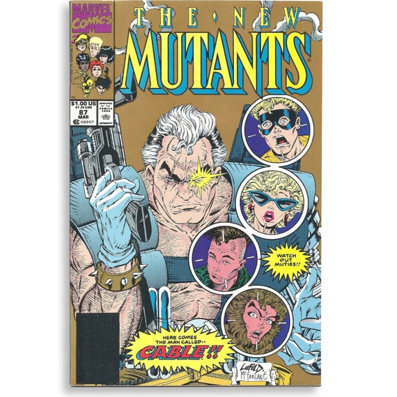 New Mutants #87 Second Printing