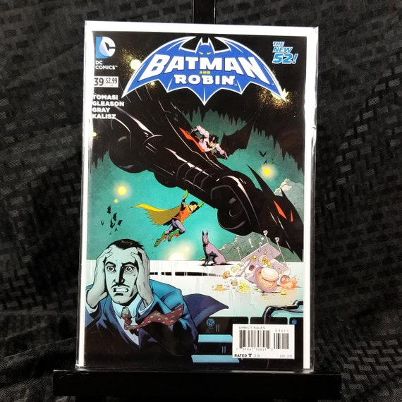 Batman and Robin (2nd Series) #39A - Action Comics #1 Homage