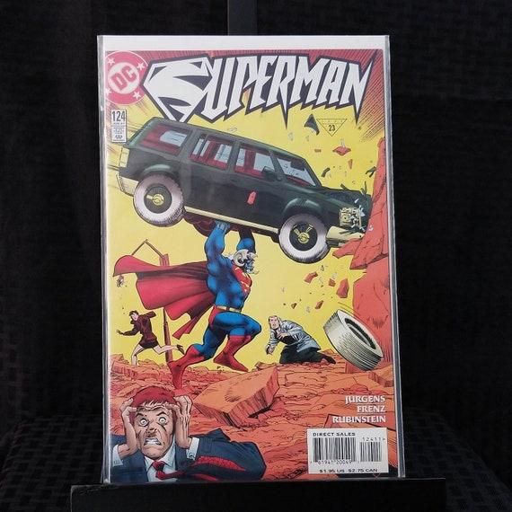 Superman Vol 2 #124 - Action Comics #1 Homage