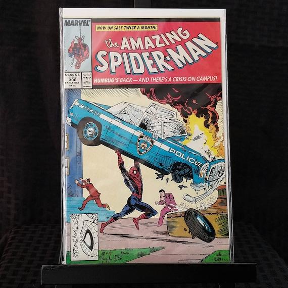 Amazing Spider-Man #306 - Action Comics #1 Homage