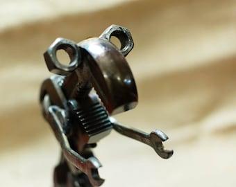 Business Card Holder: Tyrannosaurus Wrench