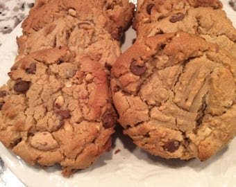 Peanut Butter, Chocolate Chunk Cookie..........This is not your average Peanut Butter Cookie!!!