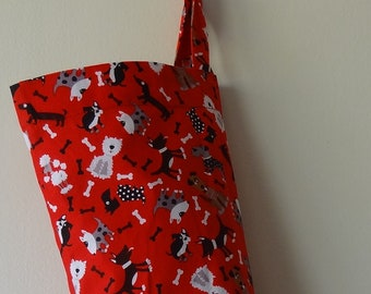 Grocery Bag Holder/Dispenser - My Little Dog Friends