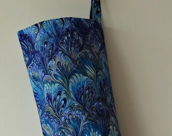 Grocery Bag Holder - Peacock