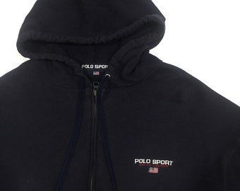 Polo Sport Hoodie Full Zipper Sweatshirt