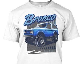a60da1b6abb Ford Bronco Truck Blue Classic T-Shirt