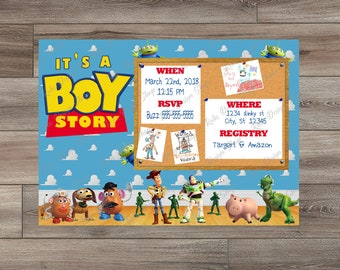 Toy Story Baby Shower Etsy