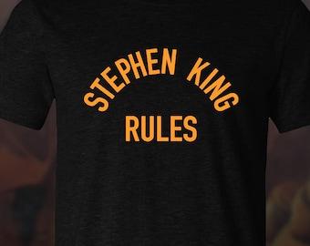 6b7bbf63a Stephen king rules | Etsy