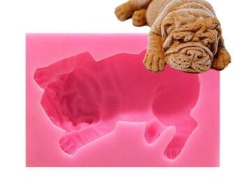 Dog shaped chocolate | Etsy