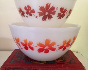 Brown Agee Pyrex Cape Tulip