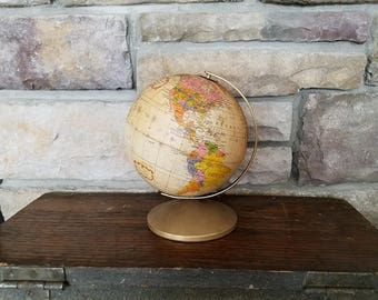 Vintage 1960's The Revere Six Inch Globe by Replogle