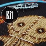 KIT ~ Trick R Treat Sam - Halloween - Cross Stitch Pattern - Horror, Movie, Macabre, Thriller, Murder, Modern, Slasher, Gore
