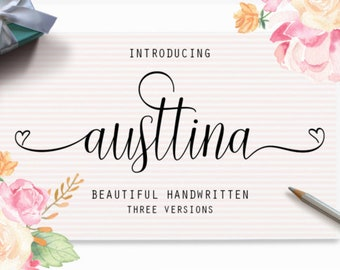 Cathleen Fonts Download font Swirly Font Script Font Digital download swash font Cricut font calligraphy font wedding font bundle