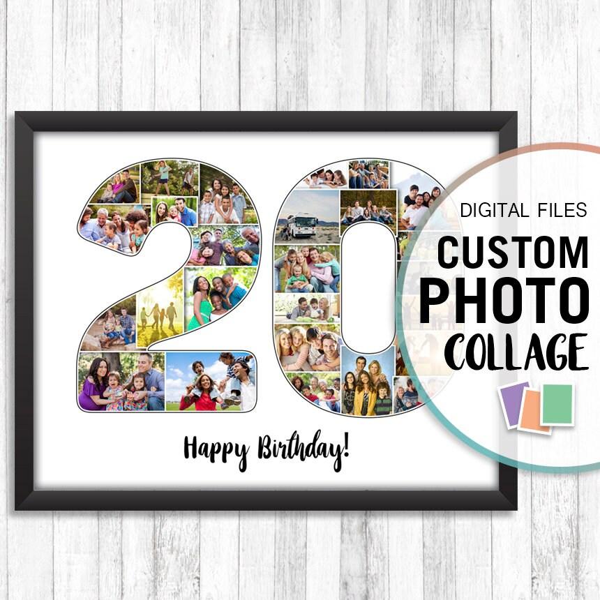 20th Anniversary Traditional Gift: 20th Anniversary Gift 20th Birthday Gift 20 Years Wedding