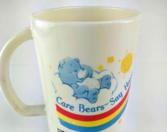 Vintage Care Bears 1985 Cup
