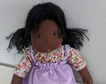Junior Netchie: 16 inch Waldorf Doll. Handmade by Netchie Dolls. Lets Play Pretend! Gentle Parenting, Natural Toys, Earth Friendly,Baby Doll