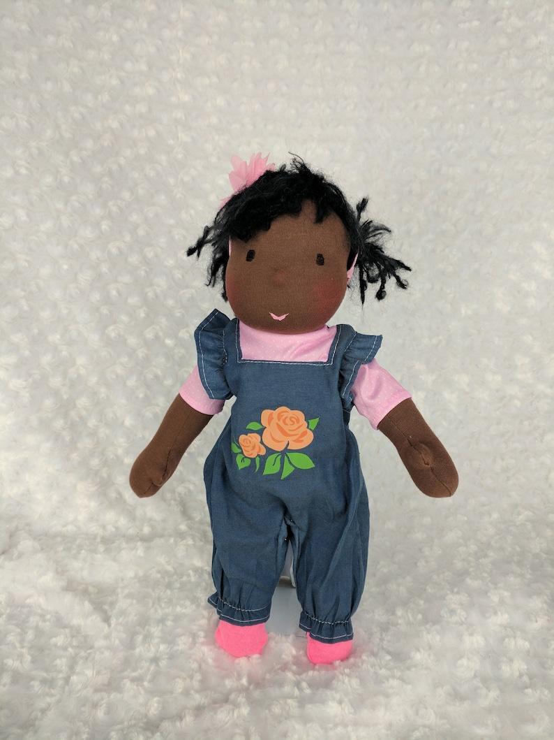 Junior Netchie: 15 inch Waldorf Doll Steiner Doll Handmade by image 0