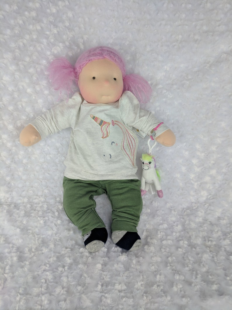 20 inch Waldorf Inspired Baby Doll by Netchie Dolls. Lets play image 0