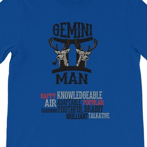 Gemini Men Shirt T Gifts Zodiac May Birthday June Gift Zo