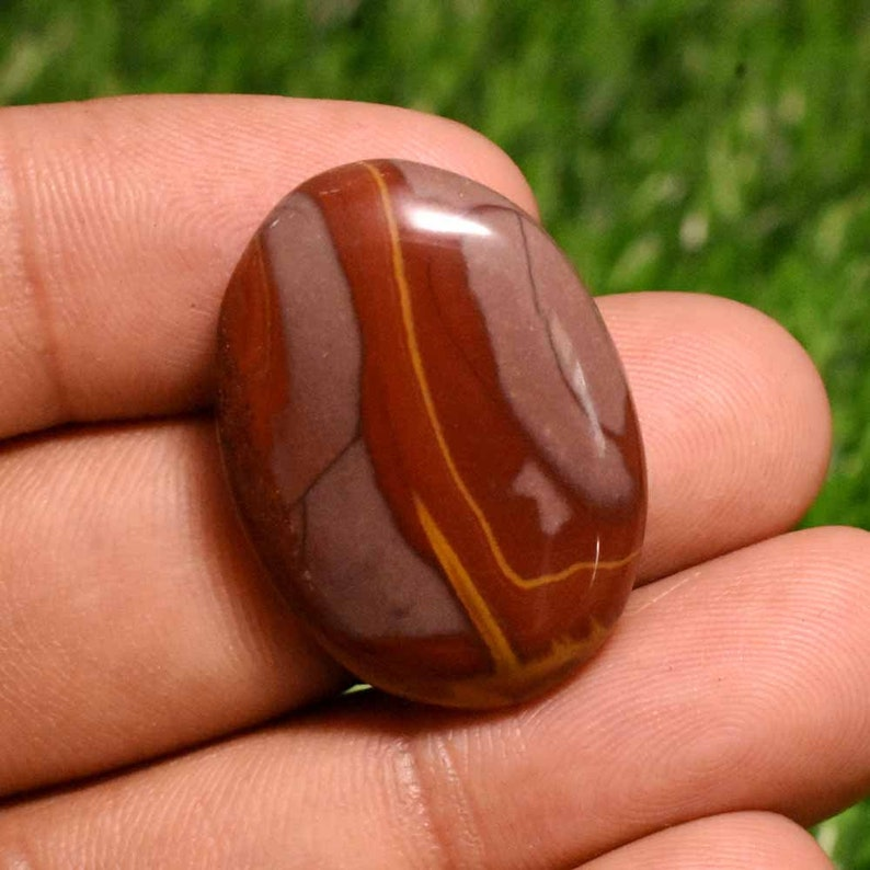 33.5 Cts Natural Noreena Jasper Cabochon,Noreena Jasper gemstone,Noreen jasper loose gemstone,Jewelry Making Stone 29x21x6 MM T3777