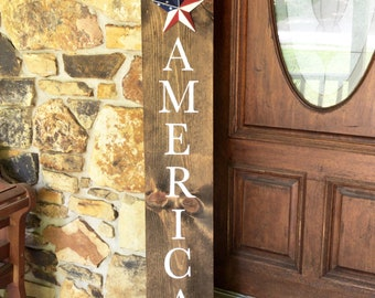 America Porch sign