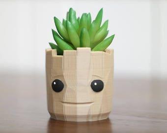 Baby Groot, Groot Planter, Baby Groot Planter, Groot gift, Groot decor, Guardians Gift, Guardians Galaxy, Air Plant Holder, Desk planter