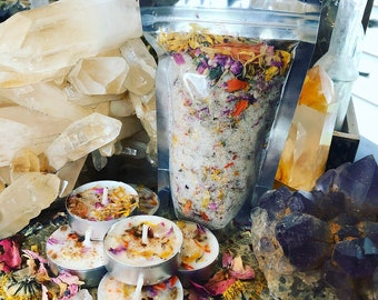 GYPSY GOLD Ritual Bath Set for Free Flowing wealth & Financial Protection