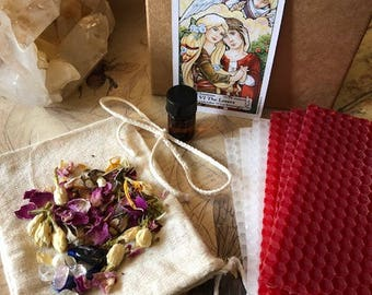 THE LOVERS DIY Love Intention/Spell Candle Kit