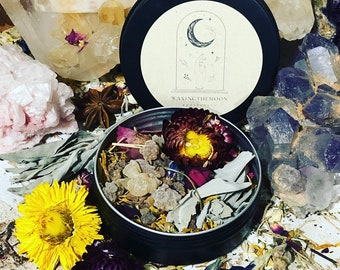 Mabon Herbal offering blend and incense with Frankincense & Myrrh