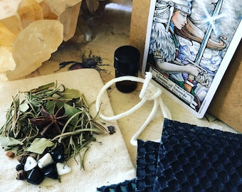 Queen of Swords***Bad Ass Bitch*** Protection candle making kit