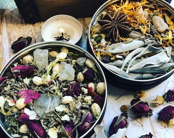 Loose Ritual Incense- herb & resin blend