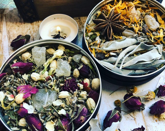Featured listing image: Loose Ritual Incense- herb & resin blend