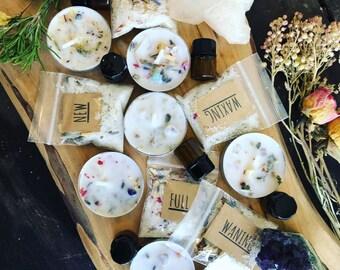 MOON RITUALS Mini Ritual Bath Full 5 phase set