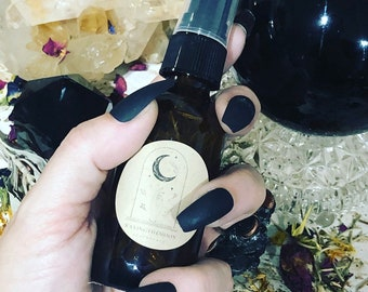 Queen of Swords Banish, Cleanse & Clear Hydrosol spray