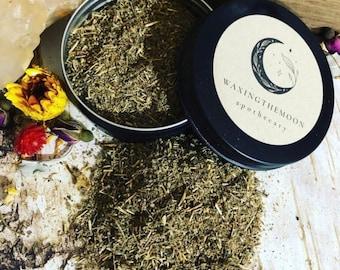WORMWOOD (Artemesia Absinthium) Organic/Kosher 1 Oz tin