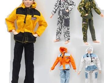 20f8fc4ab8834 Ken doll uniform | Etsy