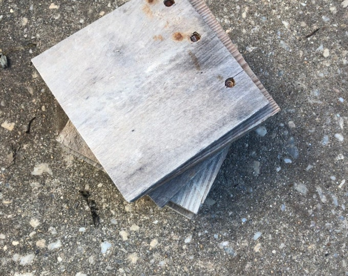 Square wood blank - multiple sizes available - wood sign diy - blank wood - wooden block - barnwood for sign