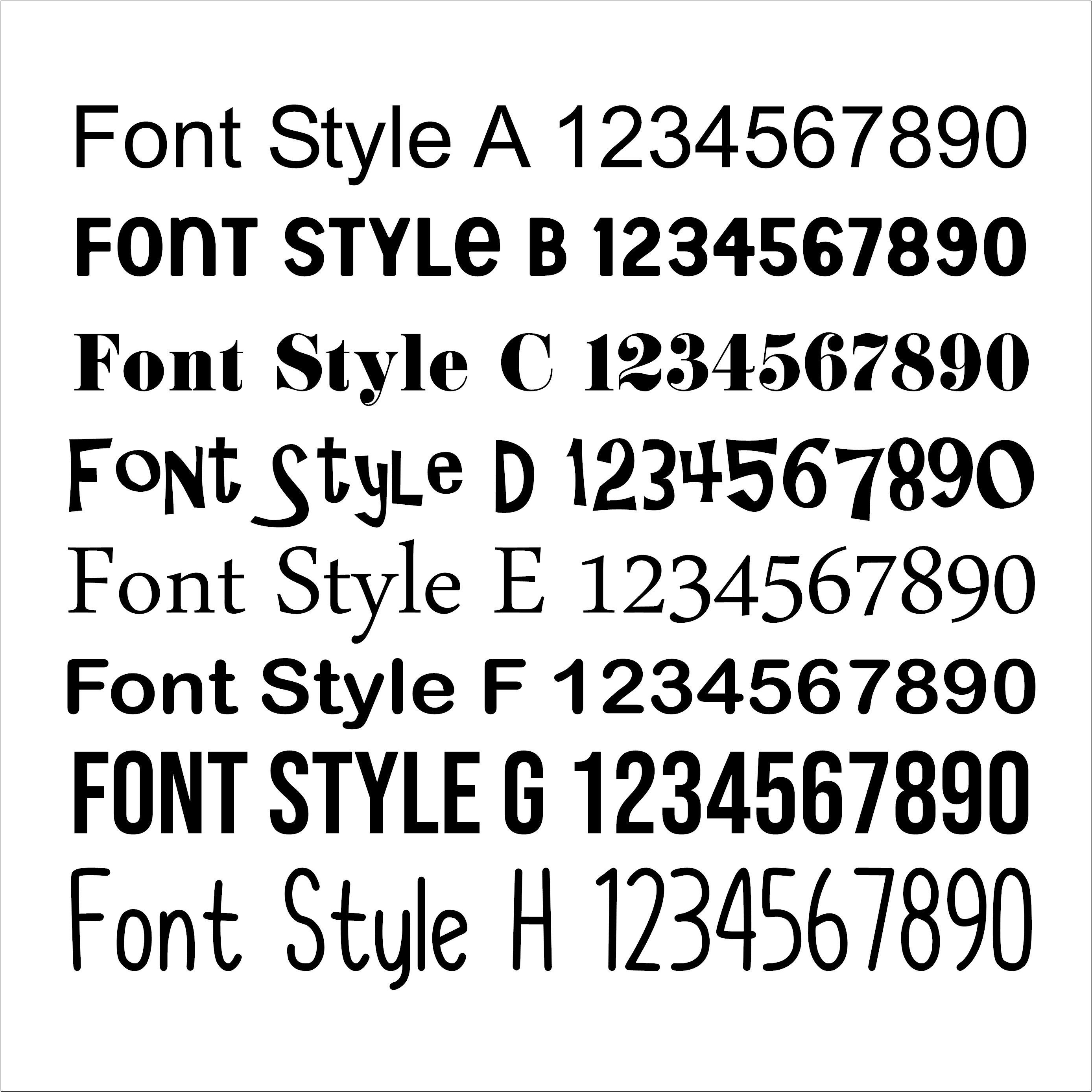 Cut out letters and numbers - Any Size, Any Font, Any Shape