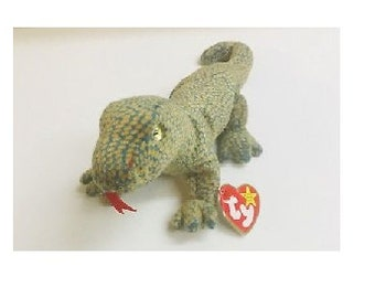 ca629a6a261 Ty Beanie Baby 1999 Scaly the Dragon