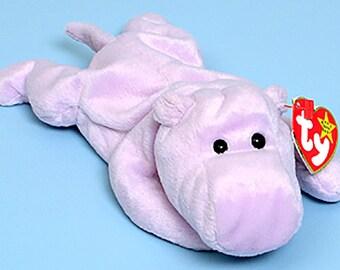 Ty Beanie Babies Happy the Hippo 1993 650ca1496065