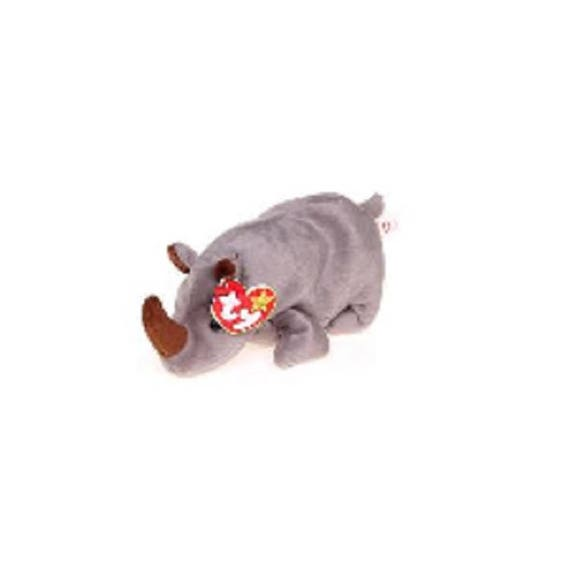 87becf38e35 Ty Beanie Babies Spike the Rhino 1996 Generation 5 version 6